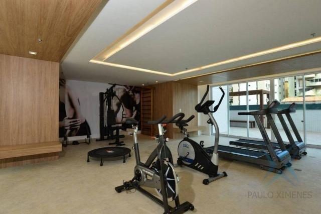 Contemporâneo, 3 dormitórios à venda, 144 m² por r$ 1.310.000 - aldeota - fortaleza/ce - Foto 6