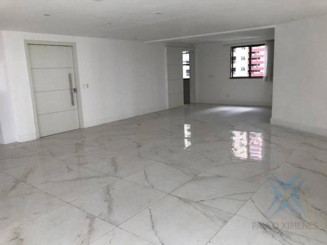 Apartamento com 4 dormitórios à venda, 357 m² por r$ 2.680.000,00 - meireles - fortaleza/c - Foto 19