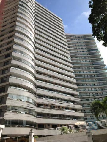 Apartamento com 4 dormitórios à venda, 357 m² por r$ 2.680.000,00 - meireles - fortaleza/c