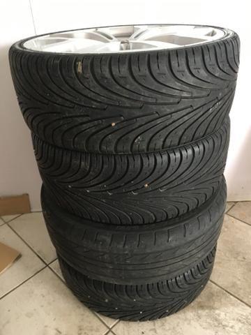 Rodas 20 com pneu - Foto 3