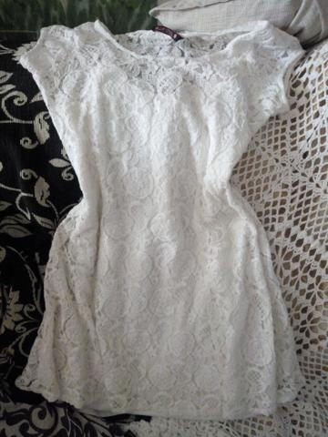 Vestido novo renda Guipir - Foto 2