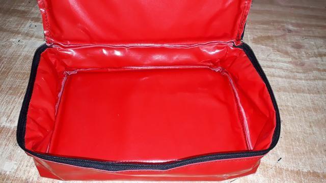 Bolsa térmica para lanches e salgados