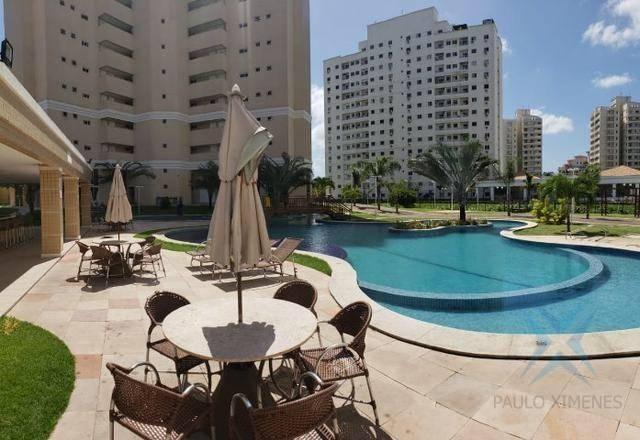 Apartamento com 3 dormitórios à venda, 74 m² por r$ 410.000,00 - cambeba - fortaleza/ce