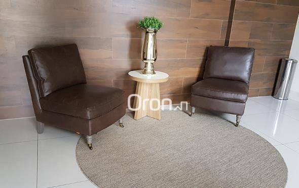 Apartamento com 2 dormitórios à venda, 55 m² por R$ 243.000,00 - Vila Rosa - Goiânia/GO - Foto 3