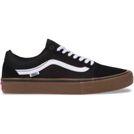 Tênis Vans Old Skool Pro Preto/Caramelo 36