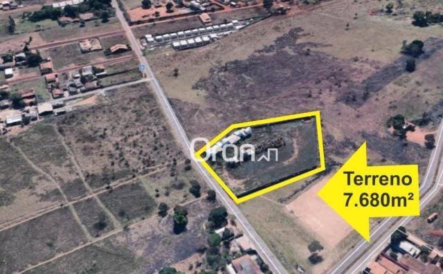 Área à venda, 7680 m² por R$ 1.600.000,00 - Chácaras São Pedro - Aparecida de Goiânia/GO - Foto 2