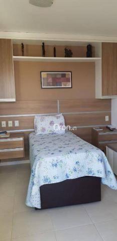 Apartamento com 2 dormitórios à venda, 69 m² por r$ 299.000,00 - setor pedro ludovico - go - Foto 17