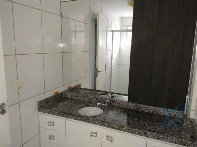 Apartamento com 1 dormitório à venda, 48 m² por r$ 300.000 - praia de iracema - fortaleza/ - Foto 17