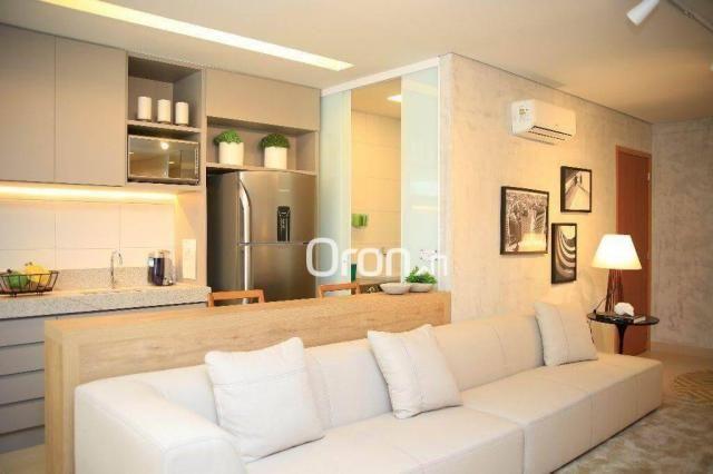 Apartamento com 2 dormitórios à venda, 73 m² por R$ 293.000,00 - Jardim Atlântico - Goiâni - Foto 3