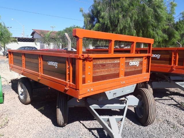 Carreta Agrícola - Cemag (capacidade: 4 ton.)