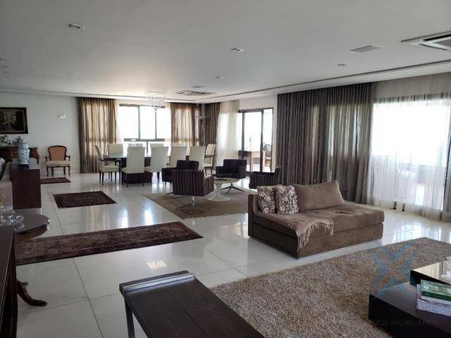Apartamento alto padrão para alugar, 550 m² por r$ 20.000/mês - meireles - fortaleza/ce - Foto 10