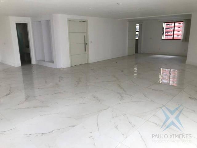 Apartamento com 4 dormitórios à venda, 357 m² por r$ 2.680.000,00 - meireles - fortaleza/c - Foto 10