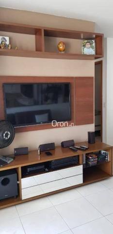 Apartamento com 2 dormitórios à venda, 69 m² por r$ 299.000,00 - setor pedro ludovico - go - Foto 7