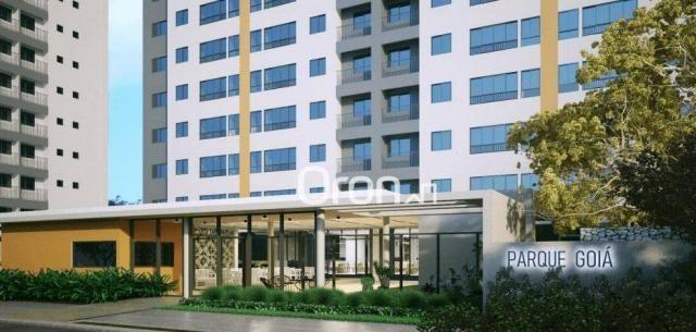 Apartamento com 3 dormitórios à venda, 68 m² por r$ 265.000,00 - condomínio santa rita - g - Foto 2