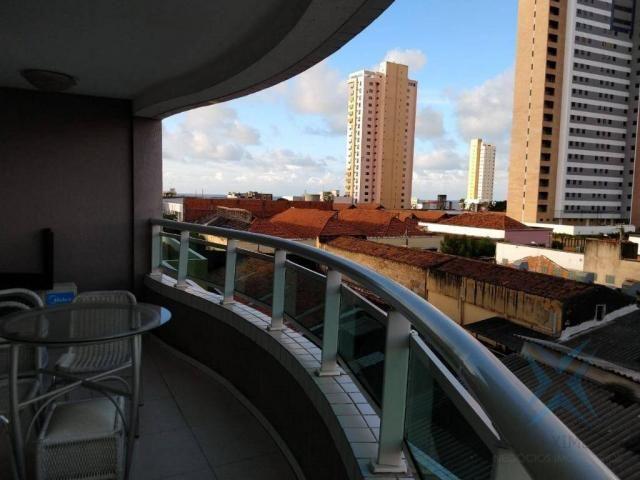 Apartamento com 1 dormitório à venda, 48 m² por r$ 300.000 - praia de iracema - fortaleza/ - Foto 15