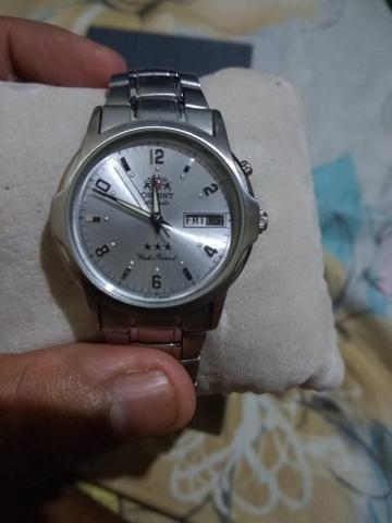 f3f47cc6535 Relógio masculino automático Orient - Bijouterias