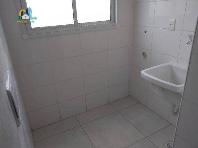 Apartamento residencial para locação, Vila Guilhermina, Praia Grande. - Foto 5