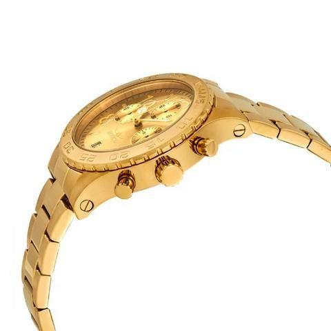 67586122d88 Relógio Invicta Feminino 1279 Ouro 18K Original em 12X 01 Ano Garantia Somo  Lider