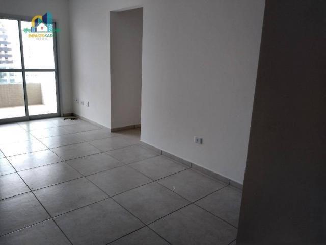 Apartamento residencial para locação, Vila Guilhermina, Praia Grande. - Foto 3