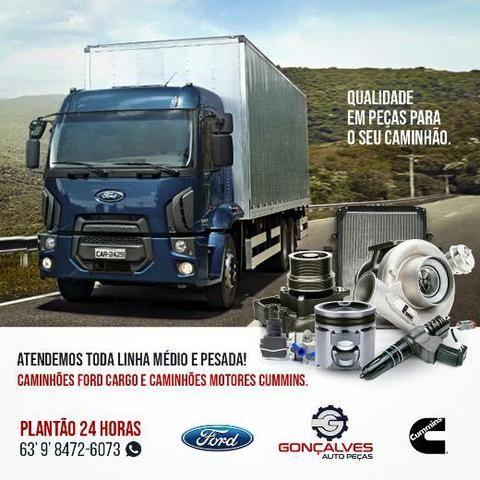 COMPRESSOR DO AR-CONDICIONADO ORIGINAL DENSO FORD CARGO / VW - Foto 2