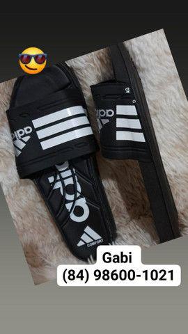 Chinelo slide Adidas n° 36 37 38 39 40 41 42 43 44