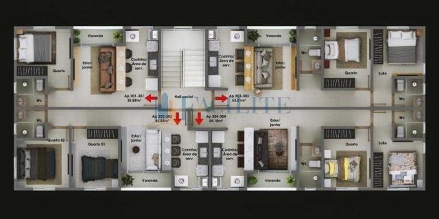 Apartamento à venda com 2 dormitórios cod:36102-39319 - Foto 10