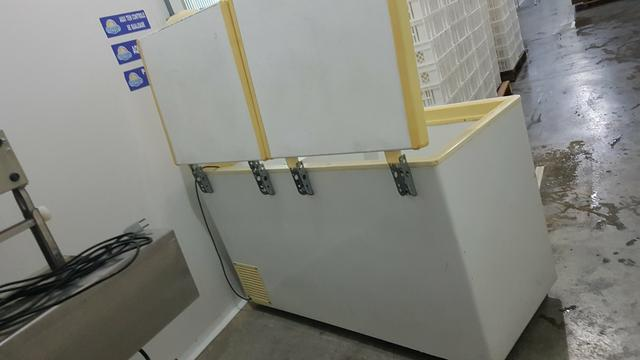 Freezer Horizontal Fricom 504 litros - Dupla Ação -duas portas