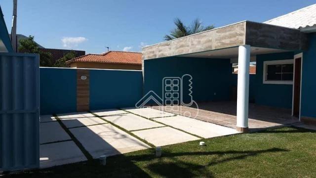 Casa com 3 dormitórios à venda, 130 m² por R$ 550.000,00 - Itaupuaçu - Maricá/RJ - Foto 3