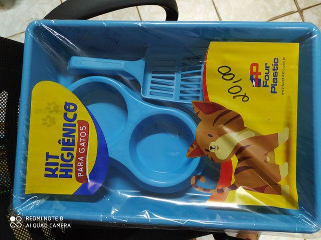 Kit higiênico para gato - Foto 4