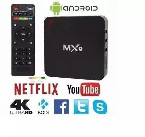 Box Tv Mx9 4k android 9.0 3Ram 16gb - Foto 3