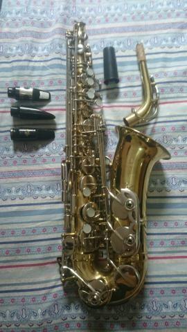 Saxofone Alto Csr 3 boquilhas - Foto 2