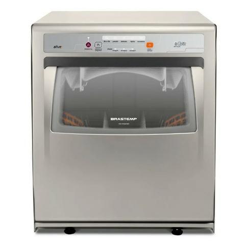 Lava-louças 8 serviços Brastemp Ative Inox