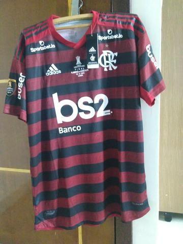 Camisa Flamengo I 19/20 Final Libertadores Versão Jogador