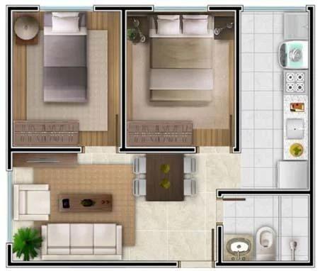 Apartamento 2/4 - Camaçari BA - Foto 15