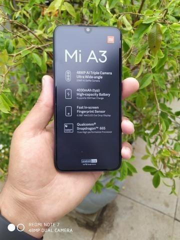 Xiaomi Mi A3 Dual Sim 64 Gb 4 Gb Ram Com Garantia De 6 Meses Azul/Branco - Foto 2