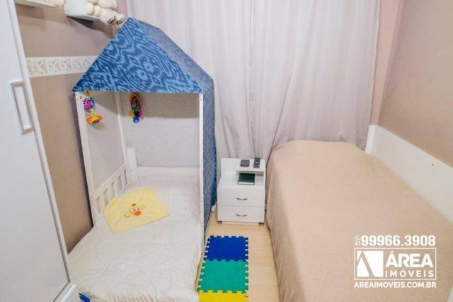Apartamento com 3 dormitórios à venda, 62 m² por R$ 211.000 - Santa Quitéria - Curitiba/PR - Foto 14