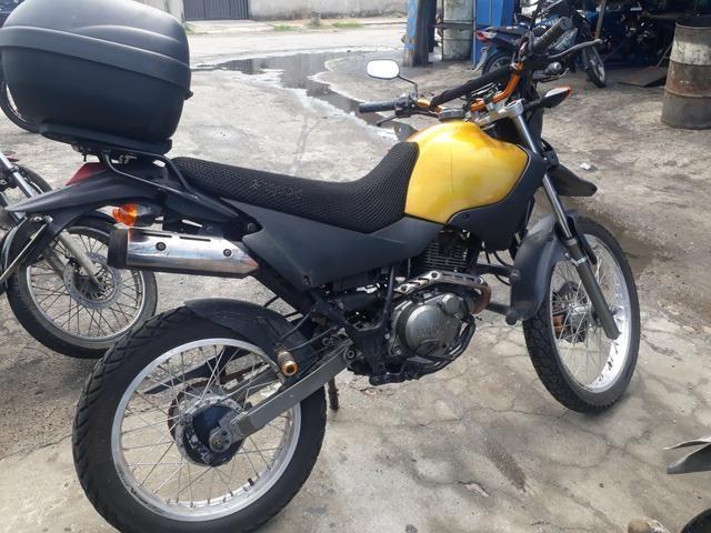 Uma reliquia moto xt 225 yamaha