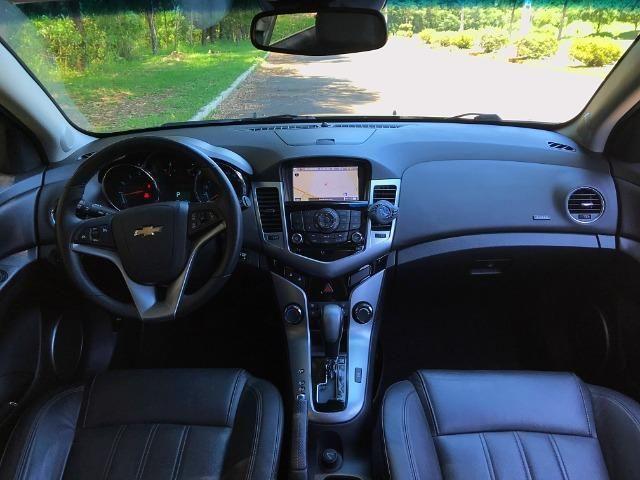 Cruze LTZ Hatch Top de Linha Teto Solar - Corolla Jetta Civic Fusion Focus Golf - Foto 15