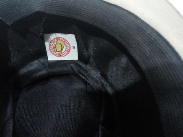 Vendo um Chapéu Cowboy de Couro simples cor cinza (veja descrição) - Foto 5