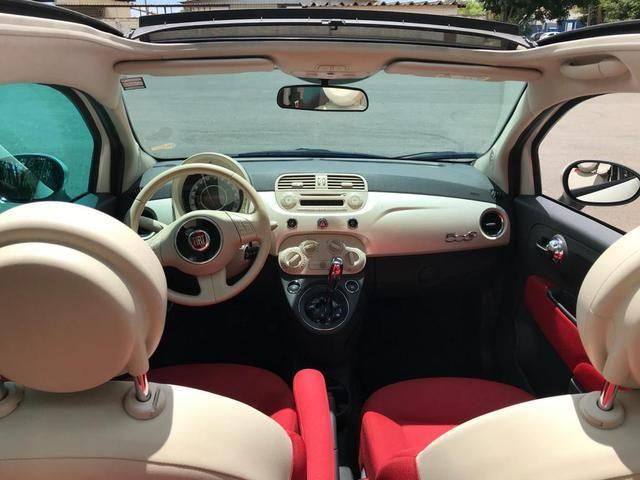 Fiat 500 cabriolet 2014 ( conversível ) automático completo muito novo confira!!!! - Foto 7