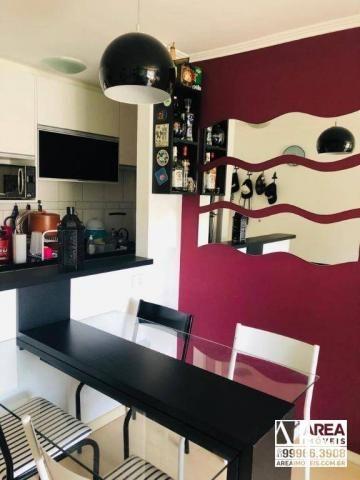 Apartamento com 2 dormitórios à venda, 62 m² por R$ 205.000 - Santa Quitéria - Curitiba/PR - Foto 3