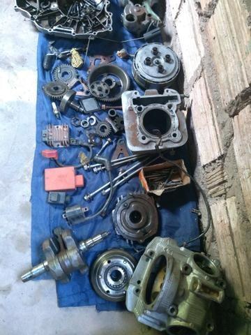 Vendo peças do motor da fazer ou Lander 2011 - Foto 2
