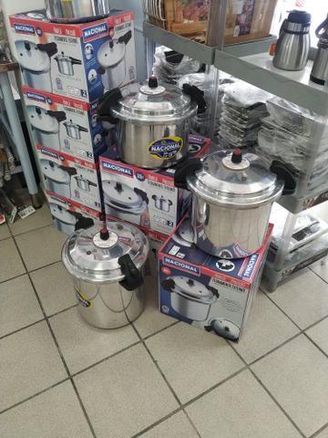 Panela de pressão industrial 10,15 e 20 litros
