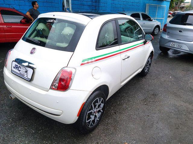 FIAT 500 DUAL 1.4 COMPLETO ANO 2012 - Foto 6