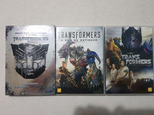 Dvd Coleção Transformers