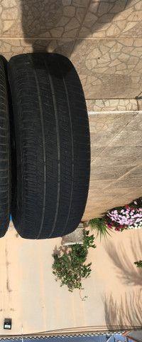Pneus Bridgestone (usados) 225 65 R17 para Honda CRV - Foto 2