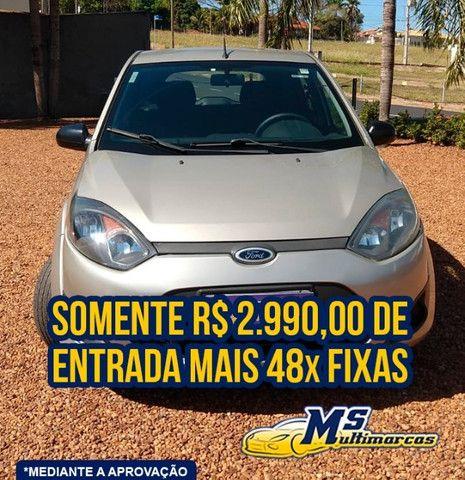 Fiesta 1.6 FLEX 2011 Completo - Foto 2