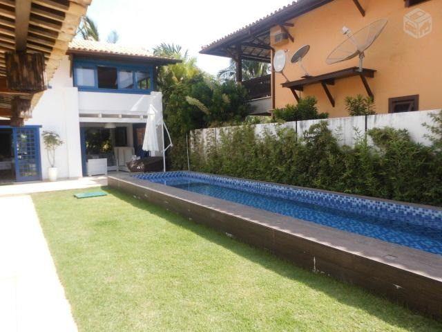 Praia do forte Linda Casa auto padrao 100m da praia 6/4 4 suites