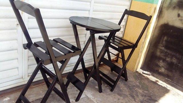 Mesas e cadeiras bistrô  - Foto 4