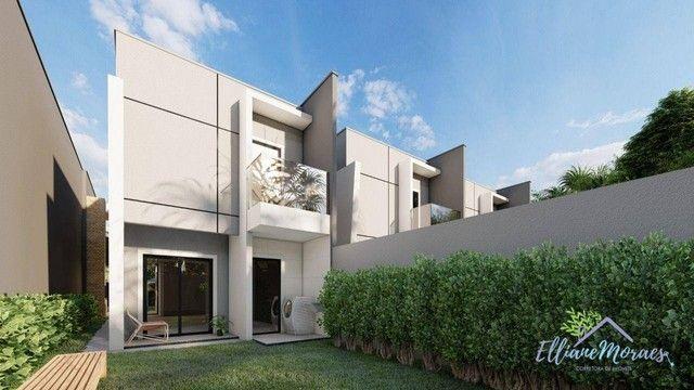 Casa com 4 dormitórios à venda, 137 m² por R$ 440.000,00 - Urucunema - Eusébio/CE - Foto 4